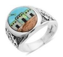 Santa Fe Style ring
