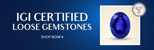 IGI Certified Loose Gemstones