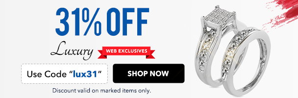 31% off Luxury Web Exclusives